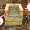 バーベキューコンロ竃タイプ説明図