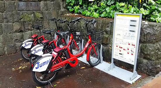 新宿区自転車シェアリング