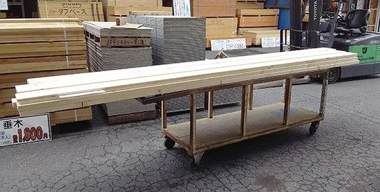ウッドデッキ用木材