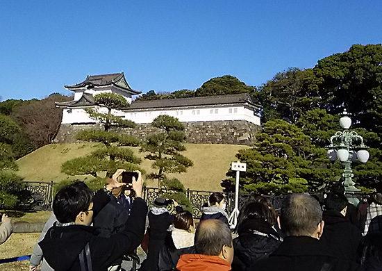 皇居・伏見櫓(ふしみやぐら)