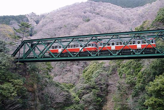 箱根登山鉄道・早川橋梁